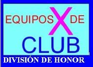 Equipos División Honor