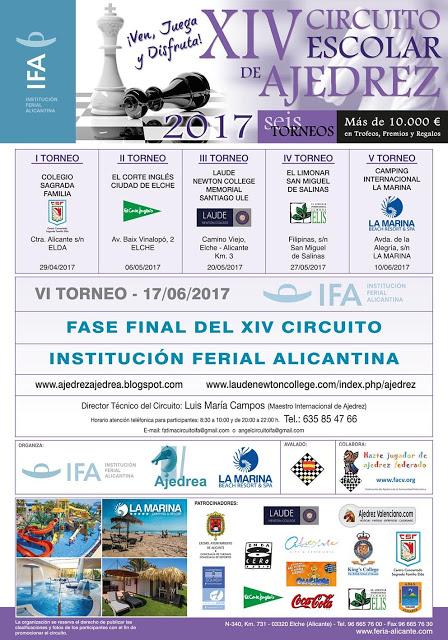 XIV Circuito escolar IFA - Ajedrea