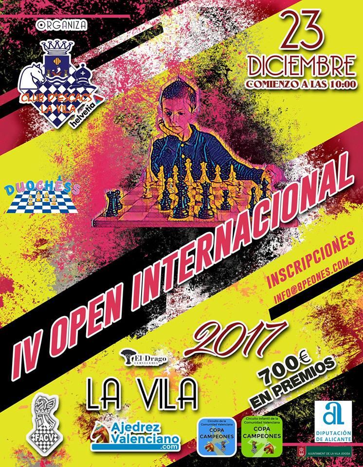 IV Open Vila Joiosa