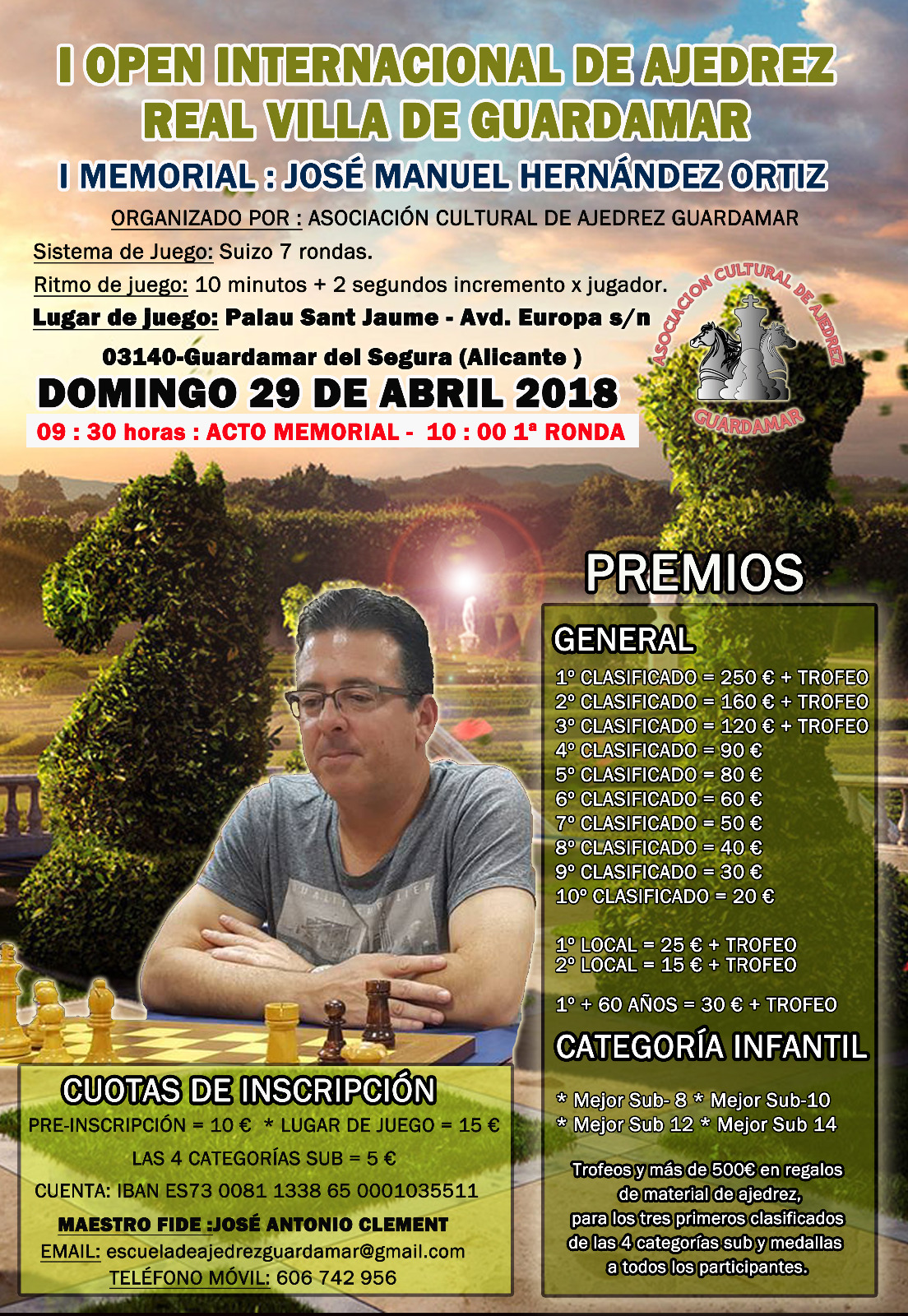I Mem. José M. Hernández