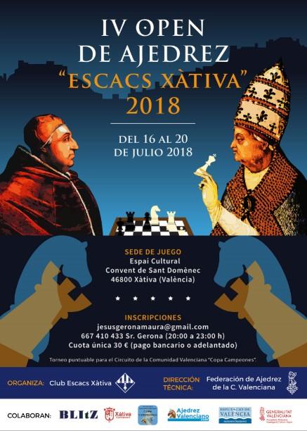 IV Escacs Xativa