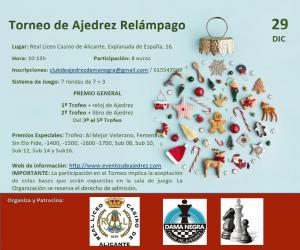Ajedrez Relámpago de Alicante