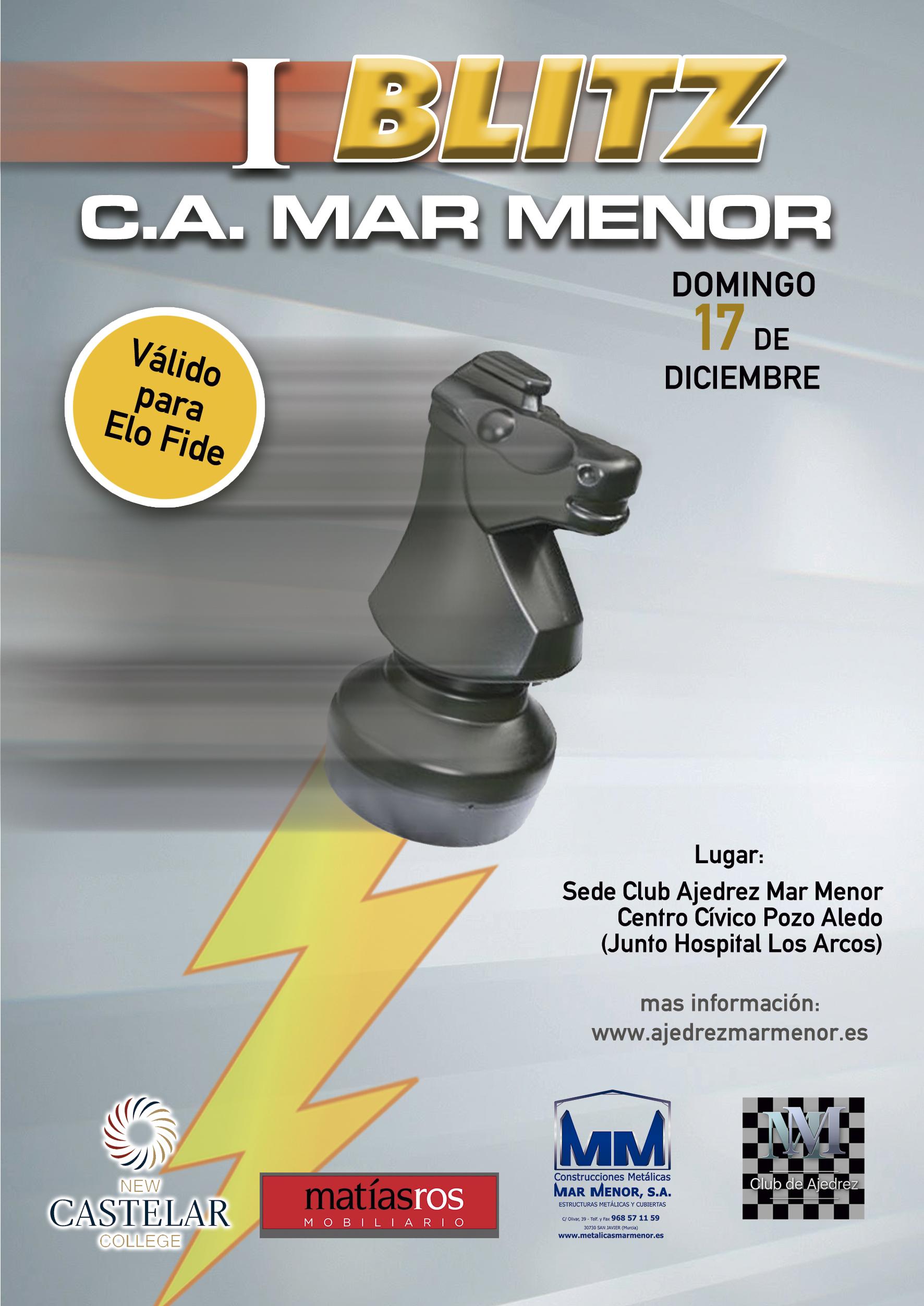 I Torneo Blitz C.A. Mar Menor