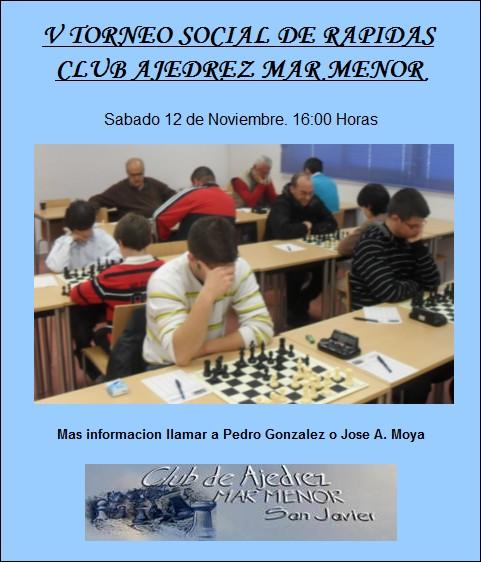 V Torneo Social Rápidas C.A. Mar Menor