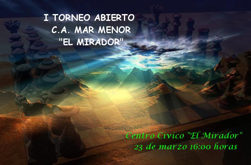 I Torneo Rápidas El Mirador