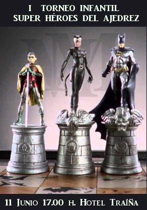 I Súper Héroes del ajedrez
