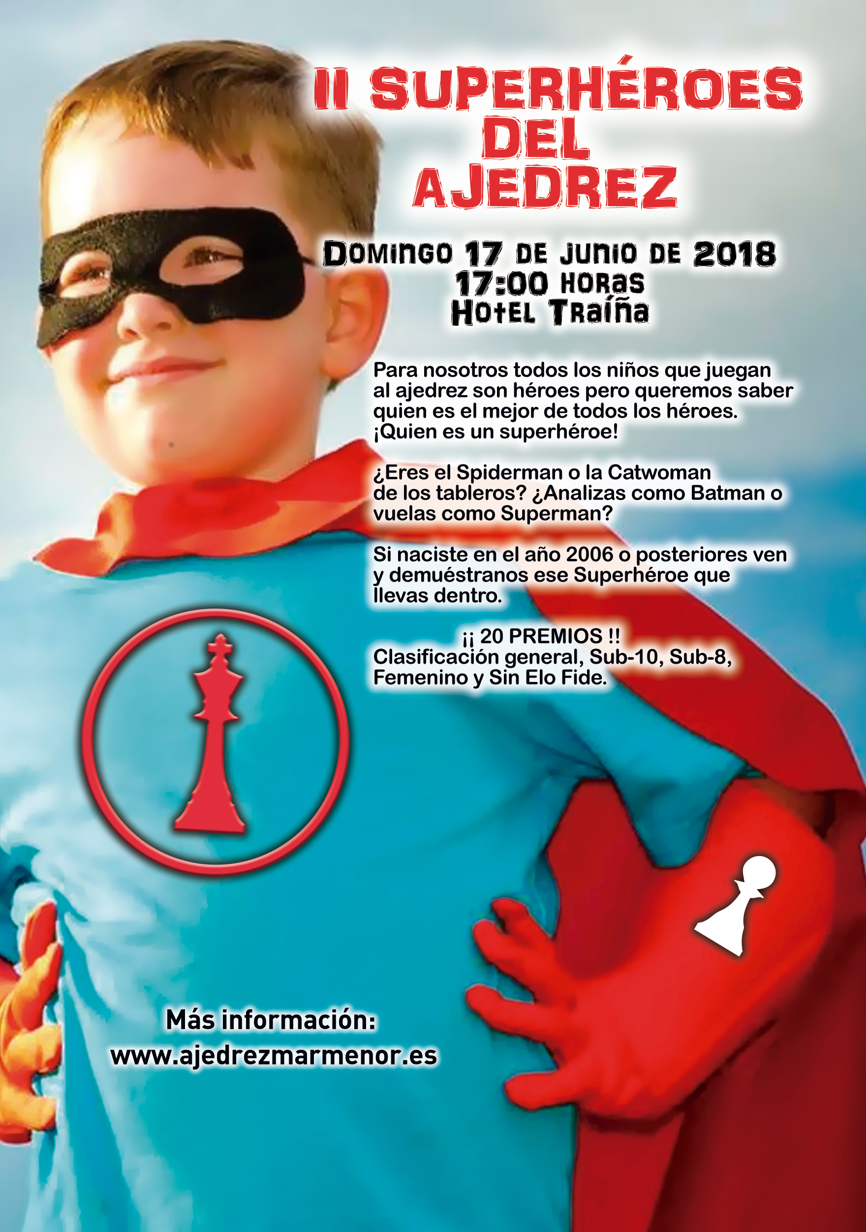 II Infantil SuperHéroes